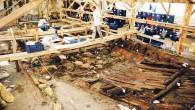 İstanbul'un tarihini 8 bin 500 yıl öncesine götüren Yenikapı Marmaray-Metro arkeoloji kazılarında bugüne kadar pek çok tarihî eser ve batık bulundu. Geçen mayıs ayında kazı çalışmalarına başlanan yeni bir batık...