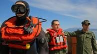 """Değişken ağırlıklı paletsiz dalışta 90 metreye inerek kendine ait dünya rekorunu kıran milli sporcu Derya Can Göçen, başarısının sırrını """"deniz korkusunun üstüne gitmek"""" olarak açıkladı. İzmir'in Çeşme ilçesinde Sahil Güvenlik..."""