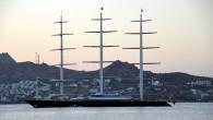 Yunan uyruklu iş kadını Elena Ambrosiadou'nun, The Maltese Falcon (Malta Şahini) isimli yelkenli yatı, Bodrum'a geldi.  Ambrosiadou'nun 2009 yılında 60 milyon sterline ABD'li iş adamı Tom Perkins'den satın aldığı...