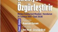 22Temmuz2015 Çarşamba – Festival kapsamında 11 ilçede paneller ve söyleşiler ile şiir ve müzik dinletileri düzenlenecek. Bu ilk festivale Romanya, Macaristan, Yunanistan ve Vietnam dan edebiyatçılar da katılıyor. Ülkemizde ve...