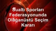 Federasyondan yapılan açıklamada 1. Seçimli Olağanüstü Genel Kurulu'n 12 Eylül 2015 Cumartesi günü saat 10.00′da Ankara Başkent Öğretmenevi'nde yapılacağı duyuruldu. Genel Kurul'un ilk toplantısında çoğunluğun sağlanamaması halinde ikinci toplantı 13...