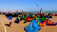 Competition for the world kiteboarding championship kicked off in Egypt's Red Sea resort of el-Gouna on Monday, with 65 men and women from 26 countries shooting across the water and...
