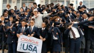 Oracle Team USA skipper Jimmy Spithill addressed a school assembly at T.N. Tatem Middle School on Monday morning [Nov 28], the first of eight visits the team will make covering each...