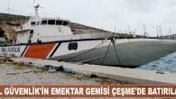 İzmir Çeşme'de ekonomik ömrünü dolduran Sahil Güvenlik gemisi 28 Nisan Cuma günü batırılacak. İzmir'in Çeşme ilçesinde, 15 yıllık gemi batırma hayali gerçeğe dönüşürken, ekonomik ömrünü dolduran sahil güvenlik gemisi 28...