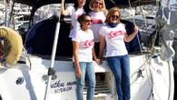 """Bodrum'da geçen 23 Nisan'da denize açılan 4 kadın denizcinin oluşturduğu Deniz Tutkusu Seyirde Grubu, İtalya kıyılarına ulaştı. Grup lideri Pırıl Adanalı """"Kadından kaptan olmaz diyenlere inat, gittiğimiz her ülkede ve..."""