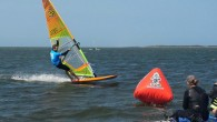 No less than 178 windsurfers battled it out in two 20-kilometer long distance races, in near perfect conditions on the glassy Pamlico Sound. Tyson Poor, from Hood River, Oregon, won...