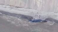 ik uzunluğuyla California'nın Marine County sahiline vurmuş durumda. Uzmanlar, balinanın bir geminin çarpması sonucu öldüğünü ve cesedinin sularla kıyıya kadar taşındığını tahmin ediyor. Uzmanlara göre ABD'nin California eyaleti kıyılarında 2800...