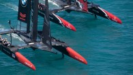 In a dominating, clinical performance on the waters of Bermuda's Great Sound, Emirates Team New Zealand thrashed Oracle Team USA in two consecutive races on Sunday to take a commanding...