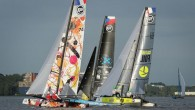 In tough conditions on the River Elbe, Oman Air out-sailed its rivals to gain a six-point lead, with the rest of the fleet separated by a narrow two-point margin, after...