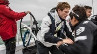 // British actor James Norton joined Volvo Ocean Race Team Sun Hung Kai / Scallywag in wet and wild Round the Island race. Rough weather conditions saw the Volvo...