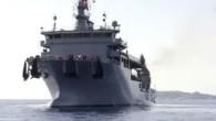 """Türkiye'nin ev sahipliğinde, Müttefik Denizaltı Komutanlığının (COMSUBNATO) sevk ve idaresinde Muğla'nın Marmaris açıklarında gerçekleştirilen """"Dynamic Monarch-17″ tatbikatına önderlik eden, milli denizaltı kurtarma gemisi TCG Alemdar, teknik donanımıyla göz doldurdu. Marmaris..."""