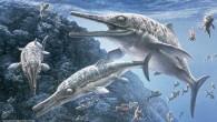 Antik canlılar arasında kendisine has bir sınıfı olan, timsah ve katil balina karışımı deniz canlıları ihtiyozorlara ait olduğunu tespit edilen bir fosil bulundu. Hindistan'da yapılan keşif, bilim dünyasına bomba gibi...