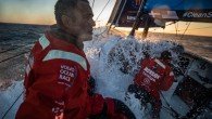 The Volvo Ocean Race fleet was punching into the Atlantic on Tuesday after surviving their first test from the weather gods through the Gibraltar Strait overnight. Vestas 11th Hour Racing...