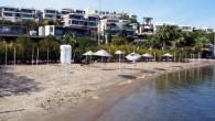 Muğla'nın Bodrum ilçesi, Gündoğan Mahallesi'ndeki Halk Plajı'nın bir bölümünün Mal Müdürlüğü tarafından 30 yıllığına kiralanmak istenmesine tepki gösteren bir grup, Kaymakamlığa dilekçe ile başvurup, ihalenin iptalini istedi. Kaymakamlık önünde toplanan...
