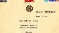 Titanik'in ilk yemek menülerinden birisi açık arttırmayla 100 bin Pound'a satıldı. En kıdemli mürettebattan olan İkinci Subay Charles Lightoller, 10 Nisan 1912′de Southampton'dan ayrılırken menüyü karısına verdi. Açık artırma yapan...