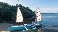Sailing down the west coast of Florida always sounded good to me, especially in March, when my alternatives are either frostbiting, driving long distances in search of sailable ice or...
