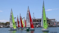 Newport Beach, CA (April 4, 2019) – Newport Harbor Yacht Club is trying to defend its team race title in the 2019 Baldwin Cup Team Race. In Stage 1, after...