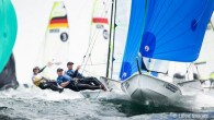 Weymouth, England (May 16, 2019) – With qualifying completed yesterday, the 49er and 49erFX Europeans today got into the meat of the matter as the proven teams were now grouped...