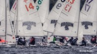 Newport, RI (May 23, 2019) – After two days of qualifying, the field of 36 teams was reduced to the top 18 schools which today began the College Sailing Sperry...