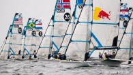 Weymouth, England (May 17, 2019) – The final stage of the 49er and 49erFX Europeans continued today amid good winds but the trend ahead is for lighter conditions on the...