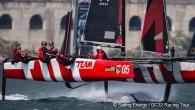 The 2019 World Championship for the GC32 flying catamaran class sets sail from the historic port of Lagos close to the southwesternmost tip of Europe on Portugal's Algarve coast on...