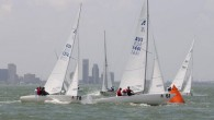 Corpus Christi, TX (June 27, 2019) – The third day at the 2019 Etchells Worlds welcomed 10-14 knot winds out of the east/southeast for two more races. Leader Iain 'Big...