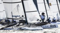 Gdynia, Poland (July 15, 2019) – Nacra 15 Youth Olympians came to the forefront on the opening day of racing at the Hempel Youth Sailing World Championships, the 49th edition...