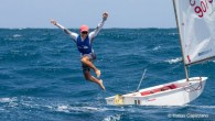 English Harbour, Antigua (July 15, 2019) – Italy's Marco Gradoni won both races today to win the 2019 Optimist World Championship for the third consecutive year. Competitors battled it out...