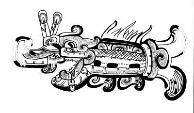 Mesoamerican shark picture