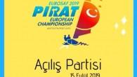 Bu gönderiyi Instagram'da gör Avrupa Pirat Şampiyonası için geri sayım başladı. Yarış öncesi saat 16:00'da düzenleyeceğimiz açılış partisine davetlisiniz! Şampiyona boyunca paylaşımlarınıza #eurosafpirateuropean2019 etiketini eklemeyi unutmayın ⛵️ TYF Pirat Komitesi...