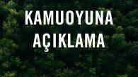 """Anayasamızın 169 ve 168'inci maddeleri gereği ormanlar, devletin hüküm ve tasarrufu altında olup, """"devlet ormanı"""" olarak adlandırılır. Ülkemizdeki ormanlık alanların %99'u devlet ormanı statüsündedir. Bu alanların yetki ve sorumluluğu Orman Genel Müdürlüğü'ne aittir. Yanan orman alanları da Anayasa'nın 169. maddesi […]"""