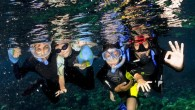 The older and more independent children become, the easier it gets to go on a dive trip with them. Even long flights can be fun as being on a plane...