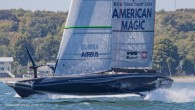 With images now of America's Cup defender New Zealand and challenger USA sailing their recently launched AC75s, and the Italian and English challengers soon to launch , INEOS Team UK...