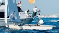 The Commodore's Cup, the second event in the Star Winter Series, was held December 7-8 in Miami, FL. While light winds on day one only allowed for one race, the wind strengthened to 14 knots on the final day to […]