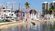 Sarah Burn and Gabby Delbello won the 2019 I420 Midwinter Championship held February 16-18 in Miami, FL. Posting four bullets and only one race out of the top 3, they dominated the 31-boat fleet, building a 16-point margin over Max […]