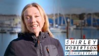 Double Olympic Gold Medallist Shirley Robertson (GBR) tells her story. Source: sailingscuttlebutt