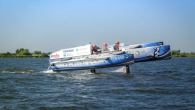 Students at Delft University of Technology in Netherlands believe they have created the first flying hydrogen boat in the world. The hydrofoils lift the 1100 kg hydrogen powered trimaran at 12 knots, with top speed at 22 knots. Source: Sailing […]
